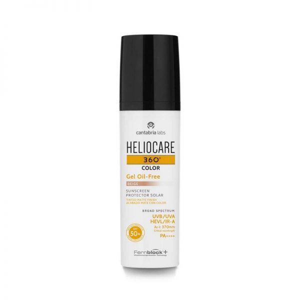 Heliocare 360 Color Gel Oil-Free SPF50+ (tinted)