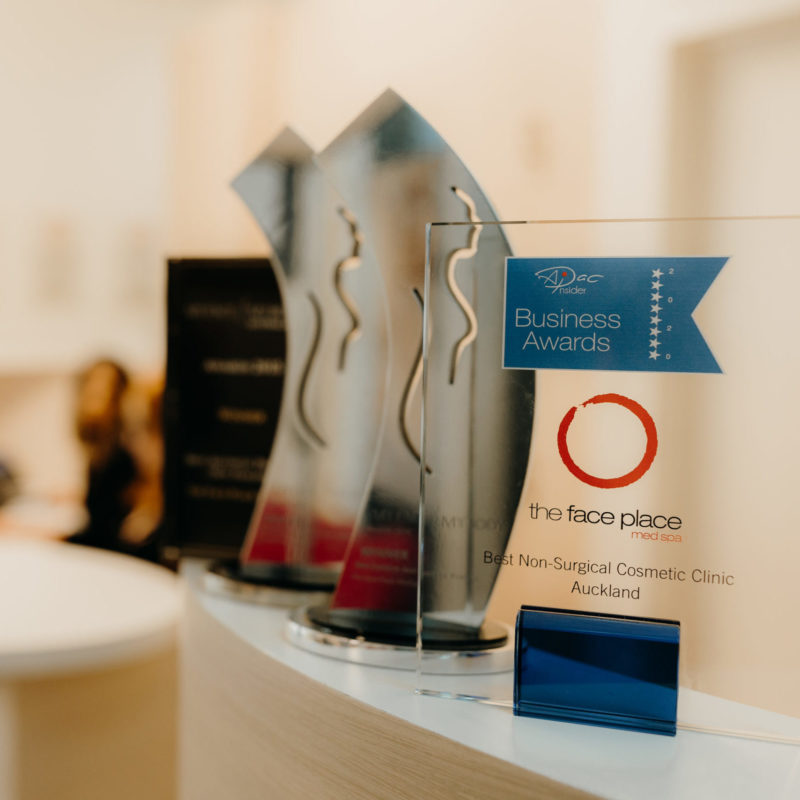 The Face Place awards